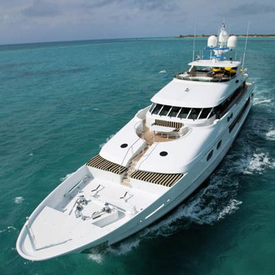 One More Toy Yacht Front View