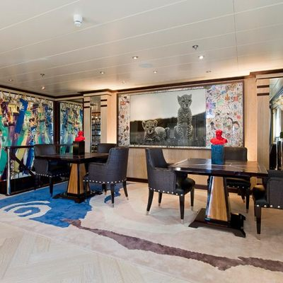 Force Blue Yacht Main Deck Dining Area