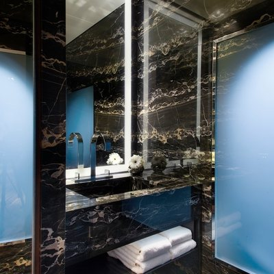 Odessa Yacht Guest Bathroom - Basin