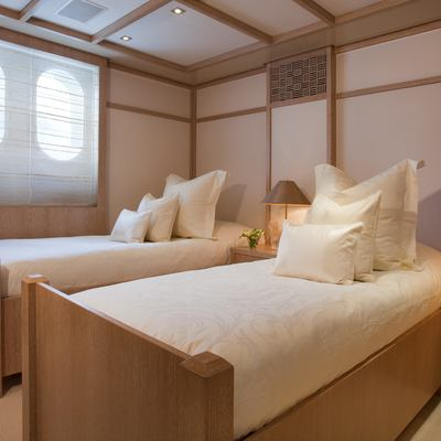 Sunrise Yacht Guest Twin Stateroom