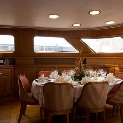 Antara Yacht Dining Area