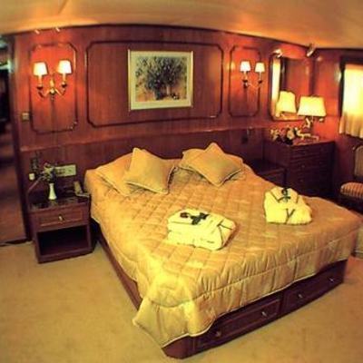 Eliki Yacht Master Stateroom