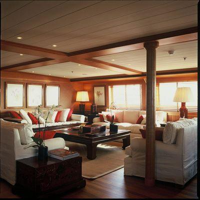 Bleu De Nimes Yacht Salon Seating