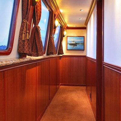 Kayana Yacht Hallway