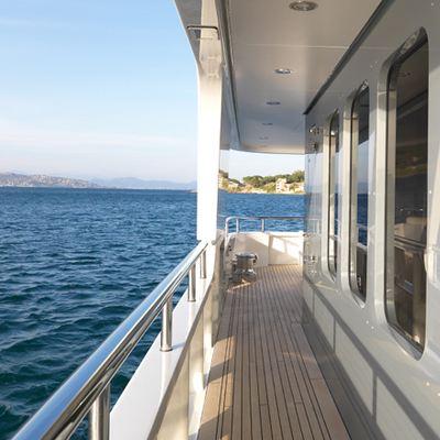 My Little Violet Yacht Terrace