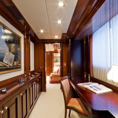 Sophie Blue Yacht Master Study