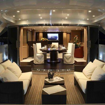 Hooligan II Yacht Exterior Seating