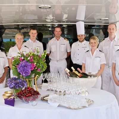 Sea Lady II Yacht Crew