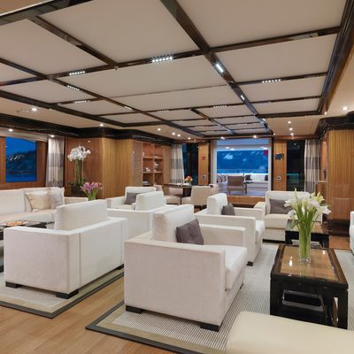 Meamina Yacht Main Saloon - Overview