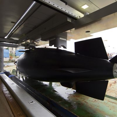 Naia Yacht Submarine - Rear View