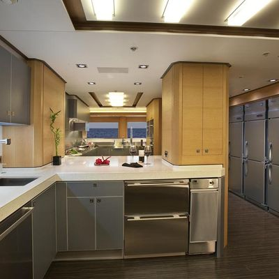 Big Fish Yacht Galley