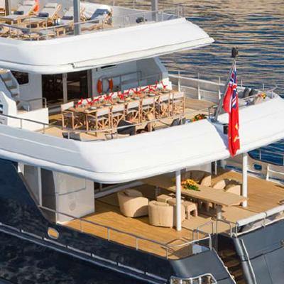 Mariu Yacht Aft Decks