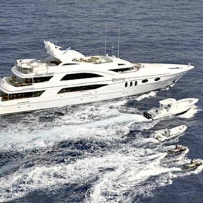 Wheels Yacht Aerial View - Watersports