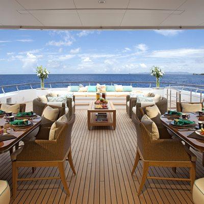 Lady Britt Yacht Sundeck