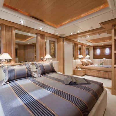 Deja Too Yacht Guest Stateroom - Port Side
