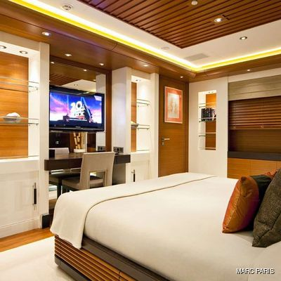 Mary-Jean II Yacht Guest Stateroom