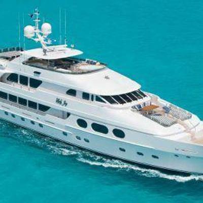 Lady Joy Yacht Running Shot