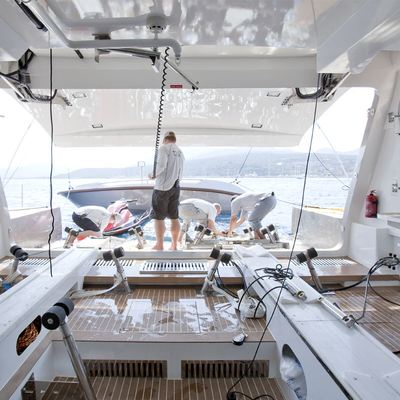 Gems II Yacht Tender Launch