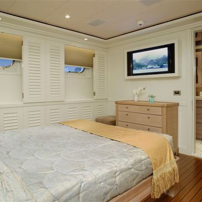 Perle Bleue Yacht Blue Guest Stateroom