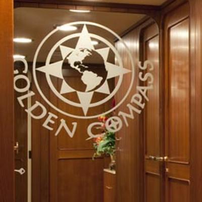 Golden Compass Yacht Guest Foyer - Detail