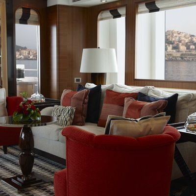 Kathleen Anne Yacht Main Saloon - Seating
