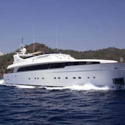 Crocus Yacht Running Shot