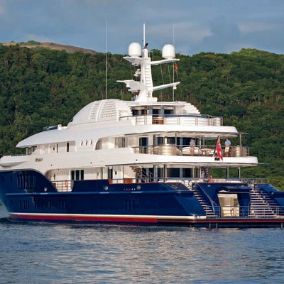Sycara V Yacht Aft View