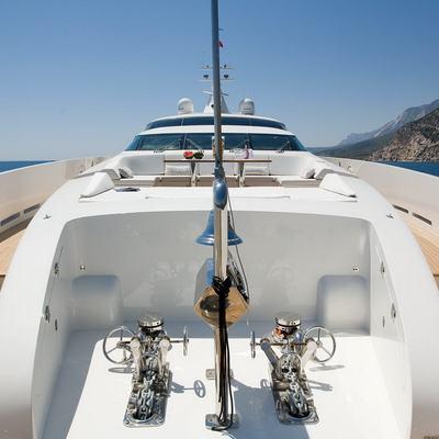 Namaste 8 Yacht Foredeck