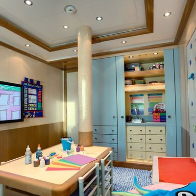 Pegasus VIII Yacht Children's Room