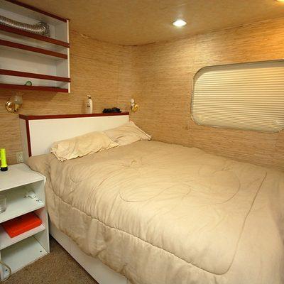 Stargazer Yacht Captain's Cabin