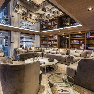 Suerte Yacht Main Salon