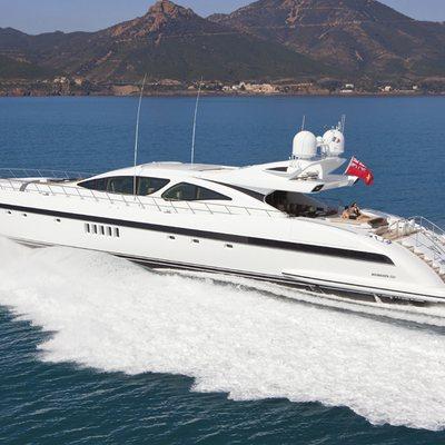 Veni Vidi Vici Yacht Running Shot - Profile