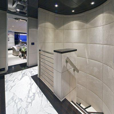 Seven S Yacht Hallway