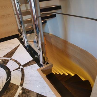 Tatiana Yacht Staircase
