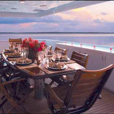 Murphy's Law Aft Deck Dining