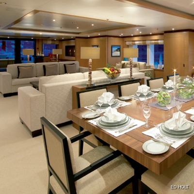 Andreas L Yacht Dining & Salon