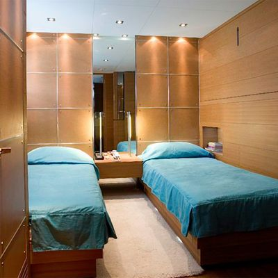 Seakid Yacht Blue Twin Stateroom