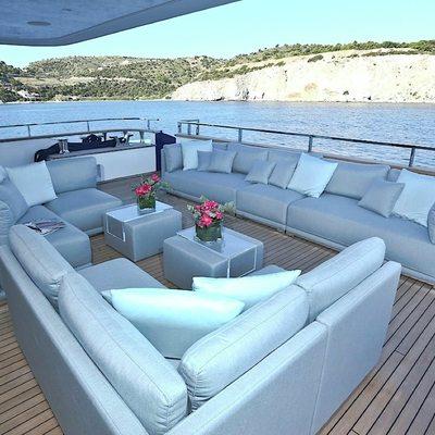 Ipanemas Yacht Aft Deck