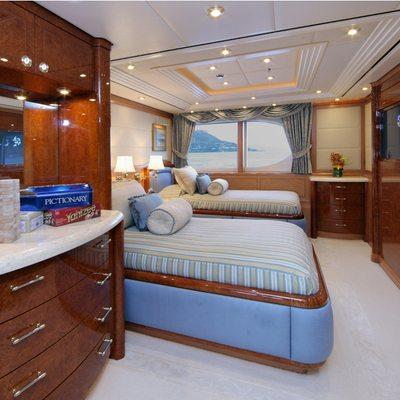 Capri I Yacht VIP Twin Stateroom