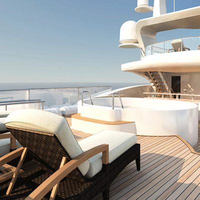 Diamonds Are Forever Yacht Sundeck - Sun Loungers