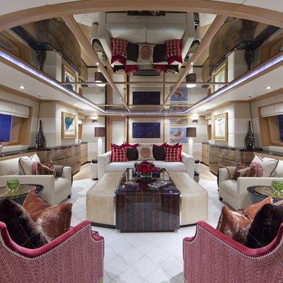 Big Change II Yacht Saloon