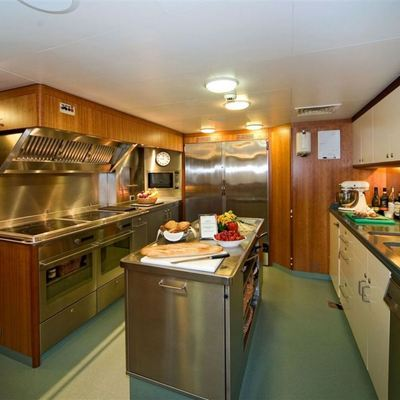 Solaia Yacht Galley