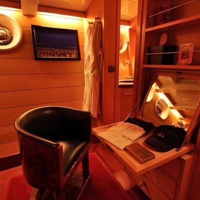 Douce France Yacht Guest Cabin Desk