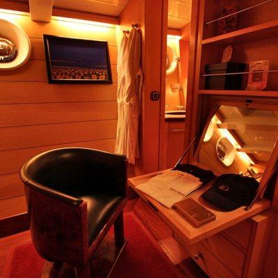 Douce France Yacht Guest Cabin Desk