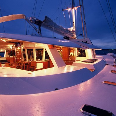 Douce France Yacht Deck - Night