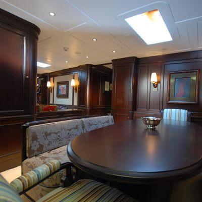 Gweilo Yacht Dining Area