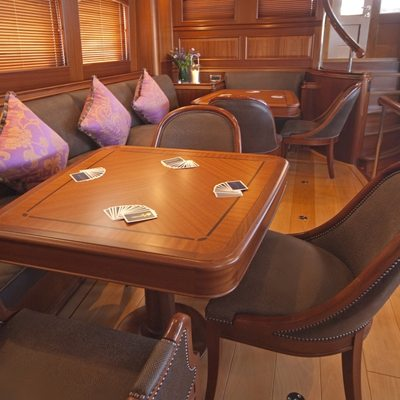Athos Yacht Card Table