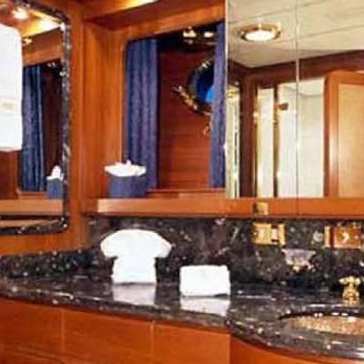 Andromeda la Dea Yacht Master Bathroom - His