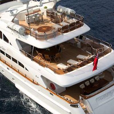 Aura Yacht Running Shot