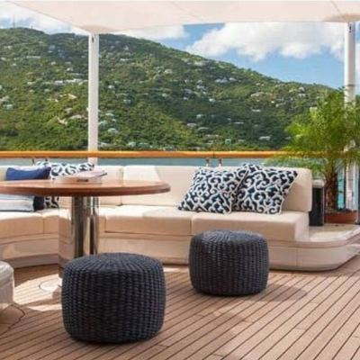 Solandge Yacht Aft Deck Seating
